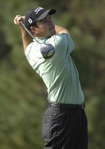 Arron Oberholser during the second round of 'The International' at Castle Pines Golf Club on Friday, August 11, 2006 in Castle Rock, Colorado.Photo by Marc Feldman/WireImage.com