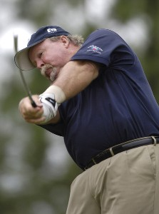 Craig Stadler during the first round of the Regions Charity Classic held at Robert Trent Jones Golf Trail at Ross Bridge in Birmingham, AL, on May 5, 2006.Photo by Steve Levin/WireImage.com