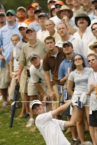 Sean O'Hair during the final round of THE PLAYERS Championship held on THE PLAYERS Stadium Course at TPC Sawgrass in Ponte Vedra Beach, Florida, on May 13, 2007. PGA TOUR - 2007 THE PLAYERS Championship - Final RoundPhoto by Hunter Martin/WireImage.com