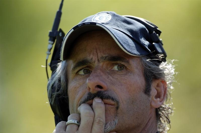 ORLANDO, FL - MARCH 14: David Feherty of Northern Ireland the Golf Channel Television on course commentator during the first day of the 2011 Tavistock Cup at Isleworth Golf Club on March 14, 2011 in Orlando, Florida.  (Photo by David Cannon/Getty Images)