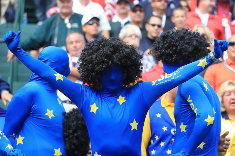 European Ryder Cup fan