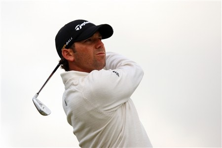 SOUTHPORT, UNITED KINGDOM - JULY 16:  Sergio Garcia of Spain tees off on the 4th hole during the third practice round of the 137th Open Championship on July 16, 2008 at Royal Birkdale Golf Club, Southport, England.  (Photo by Andrew Redington/Getty Images)