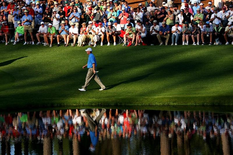 AUGUSTA, GA - APRIL 11:  Chad Campbell walks to the 16th green during the third round of the 2009 Masters Tournament at Augusta National Golf Club on April 11, 2009 in Augusta, Georgia.  (Photo by Andrew Redington/Getty Images)