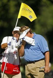 Tim Herron during the third round of the US Bank Championship being held at Brown Deer Park in Milwaukee, Wisconsin on July 21, 2007. PGA TOUR - U.S. Bank Championship in Milwaukee - Third RoundPhoto by Mike Ehrmann/WireImage.com