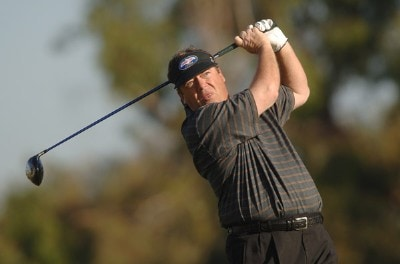 Joey Sindelar in action during the second round of the PGA TOUR's 2006 Buick Invitationa at Torrey Pines South in La Jolla, California January 27, 2006Photo by Steve Grayson/WireImage.com
