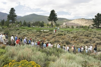 A course scenic during the first round of the 2007 Reno Tahoe Open held at Montreux Golf and Country Club on August 2, 2007 in Reno, Nevada. PGA TOUR - 2007 Reno Tahoe Open - First Round - August 2, 2007Photo by Stan Badz/PGA TOUR/WireImage.com