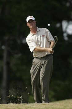 Tag Ridings in action during the third round of the Southern Farm Bureau Classic at Annandale Golf Club in Madison, Mississippi on November 5, 2005.Photo by Michael Cohen/WireImage.com