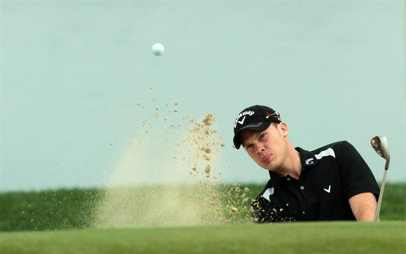ABU DHABI, UNITED ARAB EMIRATES - JANUARY 19:  Danny Willett of England during the pro-am as a preview for the 2011 Abu Dhabi HSBC Golf Championship to be held at the Abu Dhabi Golf Club on January 19, 2011 in Abu Dhabi, United Arab Emirates.  (Photo by David Cannon/Getty Images)