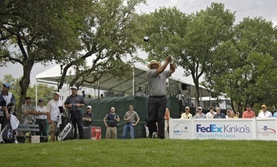 Jim Thorpe during the first round of the FedEx Kinko's Classic held at The Hills Country Club in Austin, TX, on April 28, 2006. Photo by: Steve Levin/WireImage.com