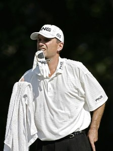 Kevin Sutherland during the first round of the Chrysler Classic of Greensboro at Forest Oaks Country Club in Greensboro, North Carolina on October 5, 2006. PGA TOUR - 2006 Chrysler Classic of Greensboro - First RoundPhoto by Michael Cohen/WireImage.com
