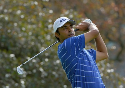 Jyoti Randhawa during practice for the 2006 U.S. Open Golf Championship held at Winged Foot Golf Club in Mamaroneck, New York on June 14, 2006.