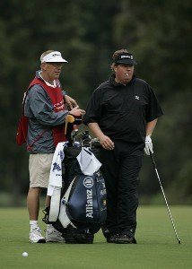 Tim Herron during the second round of the Chrysler Classic of Greensboro at Forest Oaks Country Club in Greensboro, North Carolina on October 6, 2006. PGA TOUR - 2006 Chrysler Classic of Greensboro - Second RoundPhoto by Michael Cohen/WireImage.com