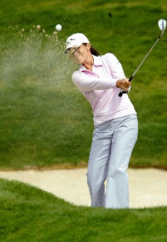 Leta Lindley of the USA during day 1 of the 2005 Abierto Mexicano Master Card Classic held at the Bosque Real Country Club in Mexico City, Mexico on March 4, 2005.