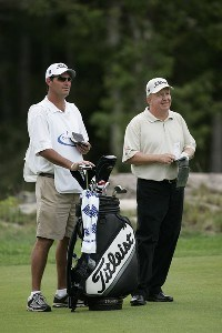 Billy Mayfair during the first round of the 2006 Deutsche Bank Championship held at TPC Boston in Norton, Massachusetts on September 1, 2006.Photo by Michael Cohen/WireImage.com