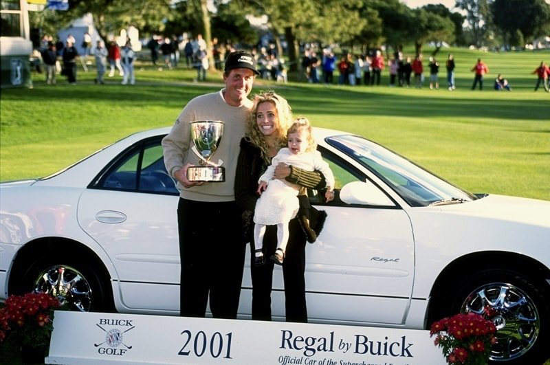 Phil Mickelson at the 2001 Buick Open