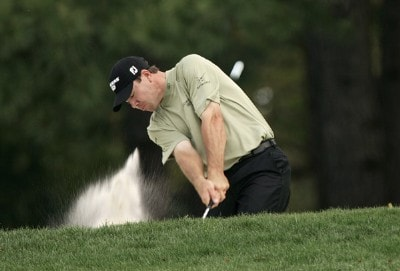 Arron Oberholser during the first round of the 2007 Wachovia Championship held at Quail Hollow Country Club in Charlotte, North Carolina on May 3, 2007. PGA TOUR - 2007 Wachovia Championship - First RoundPhoto by Sam Greenwood/WireImage.com