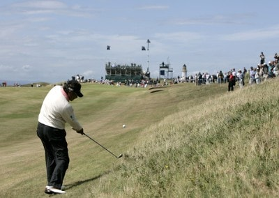 Eduardo Romero (ARG) on the seventh hole during the final round of the 2006 Senior British Open at the Westin Turnberry resort in Ayrshire, Scotland on July 30, 2006.Photo by Matthew Harris/WireImage.com
