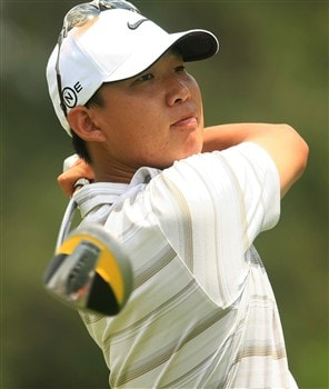PONTE VEDRA BEACH, FL - MAY 09:  Anthony Kim hits his tee shot on the 16th hole during the second round of THE PLAYERS Championship on THE PLAYERS Stadium Course at TPC Sawgrass on May 9, 2008 in Ponte Vedra Beach, Florida.  (Photo by Scott Halleran/Getty Images)