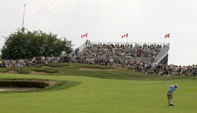 Tripp Isenhour during the third round of the Canadian Open held on the North Course at Angus Glen Golf Club in Markham, Ontario, Canada, on July 28, 2007. PGA TOUR - 2007 Canadian Open - Third RoundPhoto by S. Badz/WireImage.com
