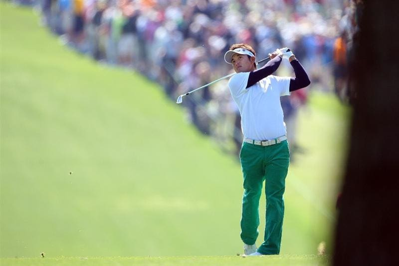 AUGUSTA, GA - APRIL 09:  Ryuji Imada of Japan hits a shot on the first hole during the first round of the 2009 Masters Tournament at Augusta National Golf Club on April 9, 2009 in Augusta, Georgia.  (Photo by Andrew Redington/Getty Images)