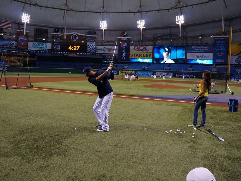Holly's 'First Pitch'