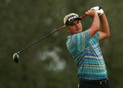 Daniel Chopra hits his tee shot on the ninth hole during the Ginn Sur Mer Classic at Tesoro on October 25, 2007 in Port Saint Lucie, Florida. PGA TOUR - 2007 Ginn sur Mer Classic - First RoundPhoto by Doug Benc/WireImage.com