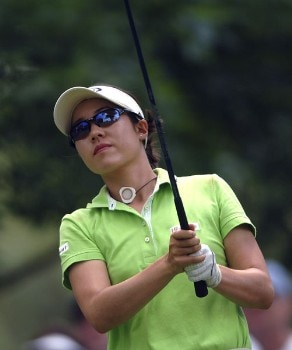 Aree Song in action during the final round of the 2005 U.S. Women's Open at Cherry Hills Country Club in Englewood, Colorado, June 26, 2005.Photo by Steve Grayson/WireImage.com