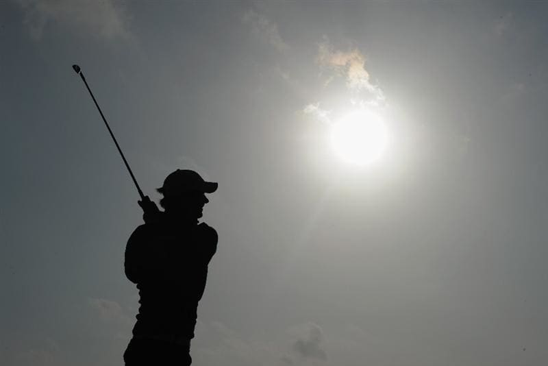 RAGUSA, ITALY - MARCH 18:  Chris Wood of England plays his approach shot on the 16th hole during the second round of the Sicilian Open at the Donnafugata golf resort and spa on March 18, 2011 in Ragusa, Italy.  (Photo by Stuart Franklin/Getty Images)