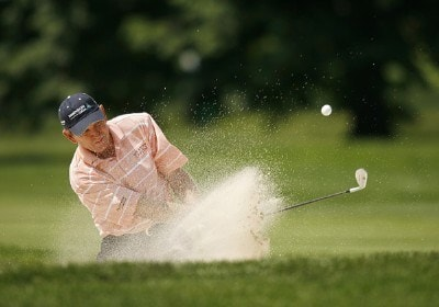 Nick Price during the second round of the 2006 U.S. Open Golf Championship at Winged Foot Golf Club in Mamaroneck, New York on June 16, 2006.Photo by Mike Ehrmann/WireImage.com