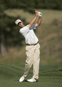 Jeff Brehaut during the second round of THE PLAYERS Championship held at the TPC Stadium Course in Ponte Vedra Beach, Florida on March 24, 2006.Photo by Sam Greenwood/WireImage.com