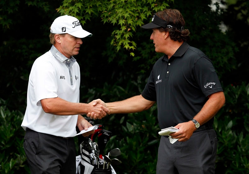 Steve Stricker and Phil Mickelson