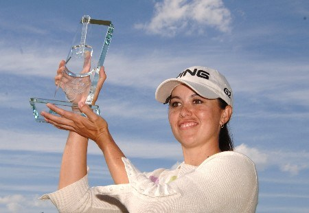 Stacy Prammanasudh wins  the 2005 Franklin American Mortgage Championship  May 1 in Franklin, Tn.Photo by Al Messerschmidt/WireImage.com