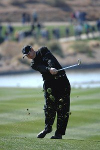 J.J. Henry during the second round of the FBR Open at the TPC Scottsdale on Friday, February 2, 2007 in Scottsdale, Arizona. PGA TOUR - 2007 FBR Open - Second RoundPhoto by Marc Feldman/WireImage.com