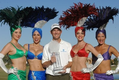 George McNeill wins the 2007 Frys.com Open at the TPC Summerland on October 14, 2007 in Las Vegas, Nevada PGA TOUR - 2007 Frys.com Open - Final RoundPhoto by Marc Feldman/WireImage.com