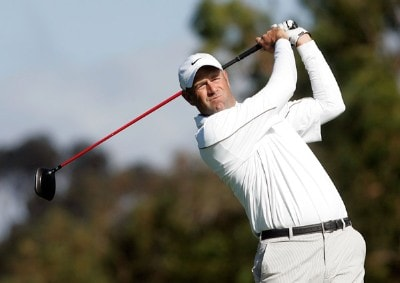 Stewart Cink hits a tee shot on the second hole during the final round of the Buick Invitational at the Torrey Pines Golf Course on January 27, 2008 in La Jolla, California. PGA TOUR - 2008 Buick Invitational - Final RoundPhoto by Jeff Gross/Getty Images