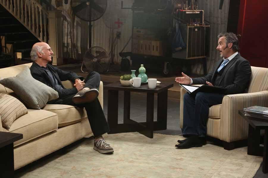 David Feherty interviews Larry David