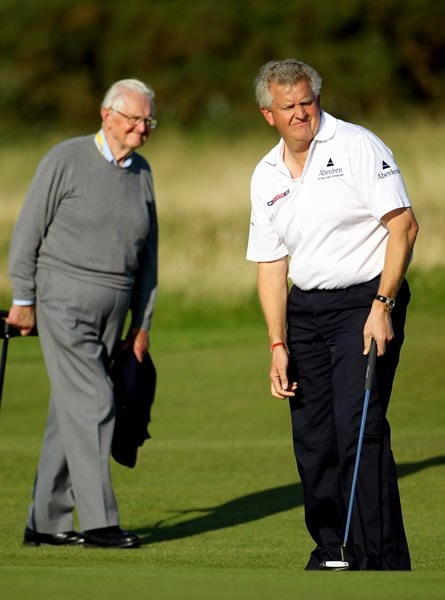 Colin Montgomerie and father James