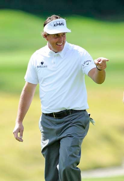 Phil Mickelson at Northern Trust Open 2012