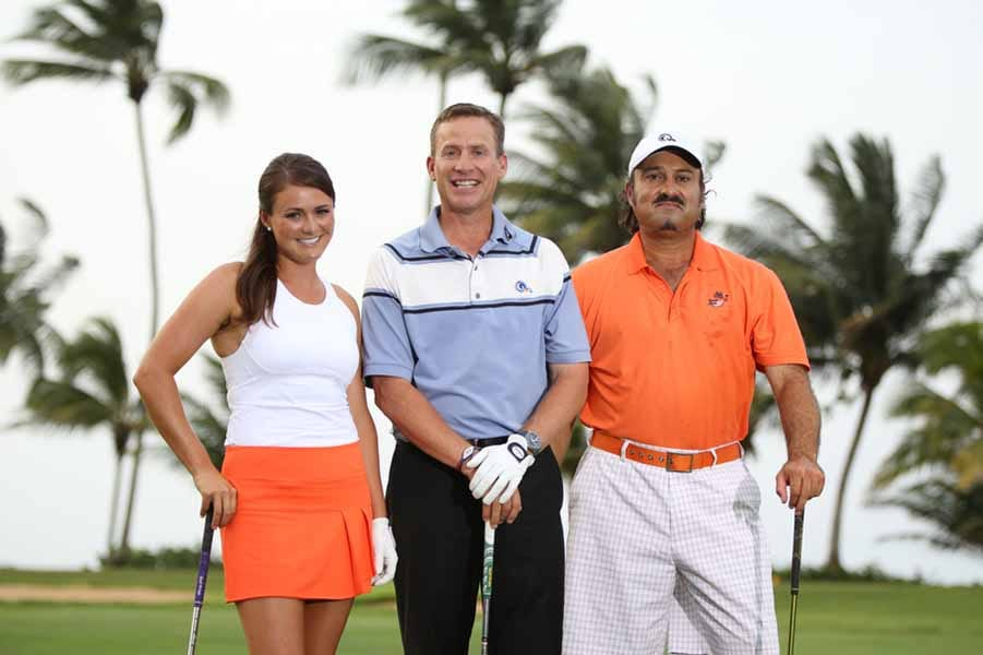 Stefanie Kenoyer; Michael Breed and Oren Geri