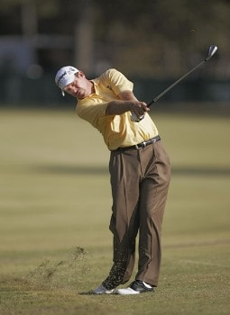 Bart Bryant in action during the third round of THE TOUR Championship at East Lake Golf Club in Atlanta, Georgia on November 5, 2005.Photo by Hunter Martin/WireImage.com