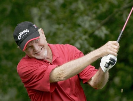 Rocky Thompson during the first round of the 2005 Commerce Bank Championship at Eisenhower Park in East Meadow, New York on July 1, 2005.Photo by Michael Cohen/WireImage.com