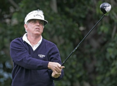 Dave Eichelberger in action during the first round of the Toshiba Classic, March 17, 2006, held at Newport Beach Country Club, Newport Beach, California. Photo by Gregory Shamus/WireImage.com