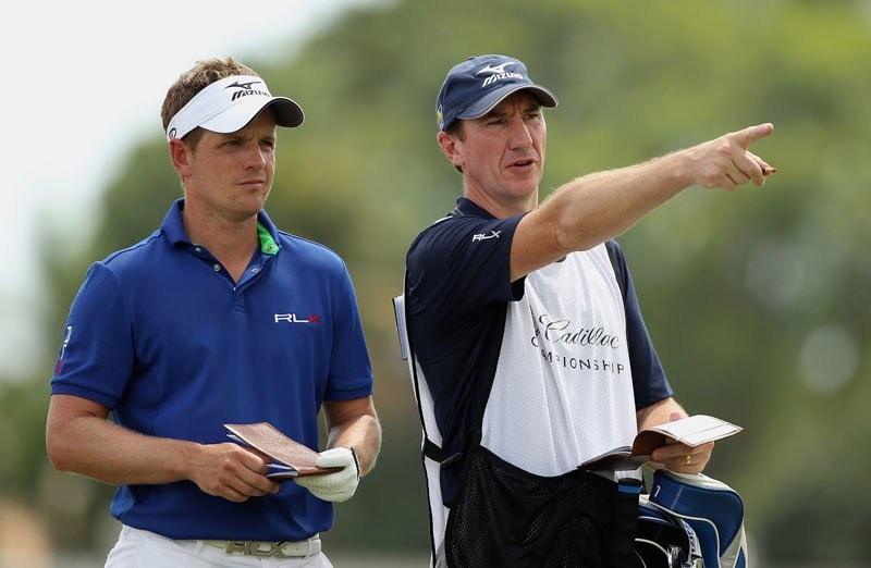 Luke Donald and John Maclaren