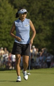 Mi Hyun Kim during the final round of the Jamie Farr Owens Corning Classic at Highland Meadows Golf Club in Sylvania, Ohio, on Sunday, July 16, 2006.Photo by Steve Levin/WireImage.com