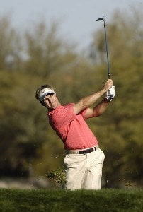James Driscoll in action during the third  round of the FBR Open  at the TPC Players Course  on Photo by Marc Feldman/WireImage.com
