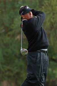 Pat Perez during the first round of the FBR Open on Thursday, February 1, 2007 in Scottsdale, Arizona PGA TOUR - 2007 FBR Open - First RoundPhoto by Marc Feldman/WireImage.com