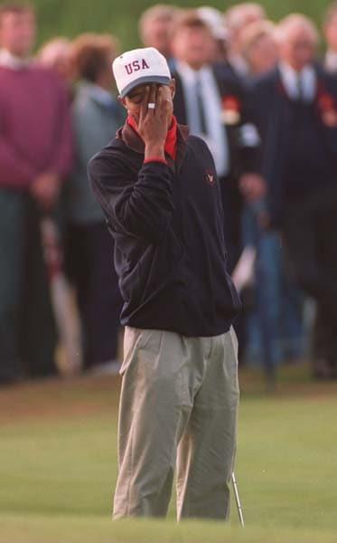 Tiger Woods, 1995 Walker Cup