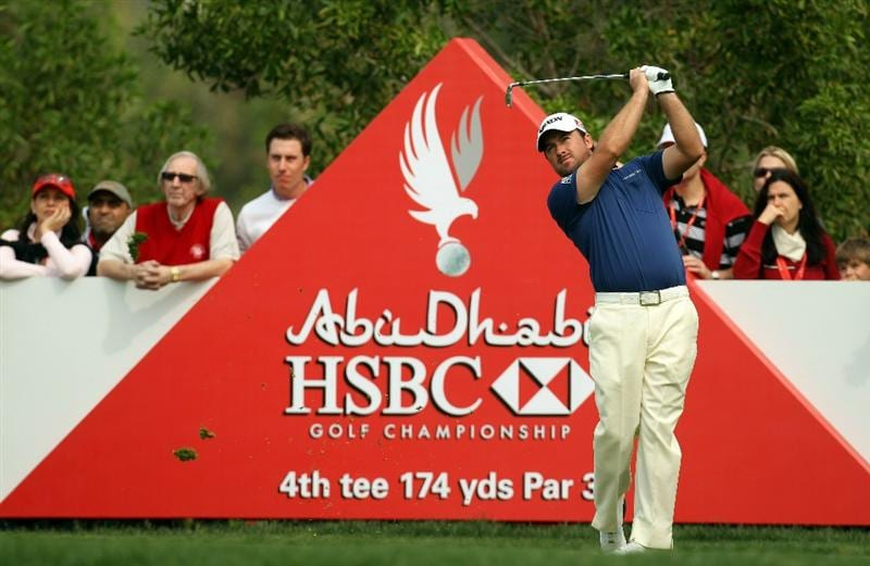 ABU DHABI, UNITED ARAB EMIRATES - JANUARY 22:  Graeme McDowell of Germany during the third round of the Abu Dhabi HSBC Golf Championship at the Abu Dhabi Golf Club on January 22, 2011 in Abu Dhabi, United Arab Emirates.  (Photo by Ross Kinnaird/Getty Images)