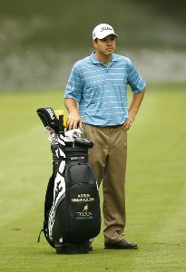 Arron Oberholser during the first round of the 88th PGA Championship at Medinah Country Club in Medinah, Illinois, on August 17, 2006.Photo by Mike Ehrmann/WireImage.com