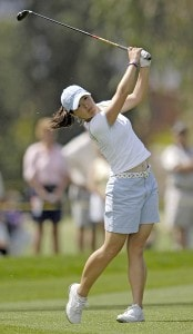 Angela Park during third round action at the Kraft Nabisco Championship at The Mission Hills Country Club in Rancho Mirage, California on Saturday, April 1, 2006.Photo by Steve Levin/WireImage.com